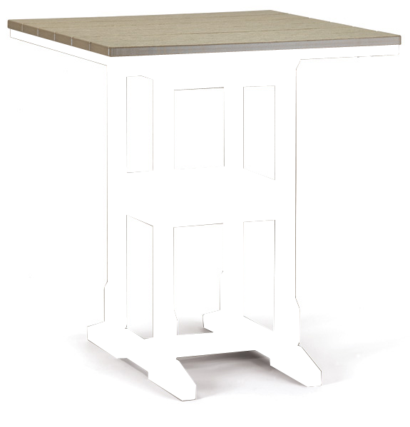 "Quick Ship 32"" x 32"" Counter Table"