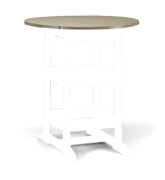 36″ Round Bar Table