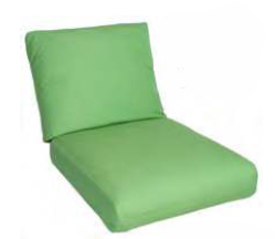 Deep Seating Back Cushion Pillow Style