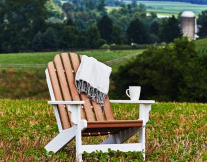 Durable, low-maintenance recycled poly lumber outdoor furniture  by Breezesta