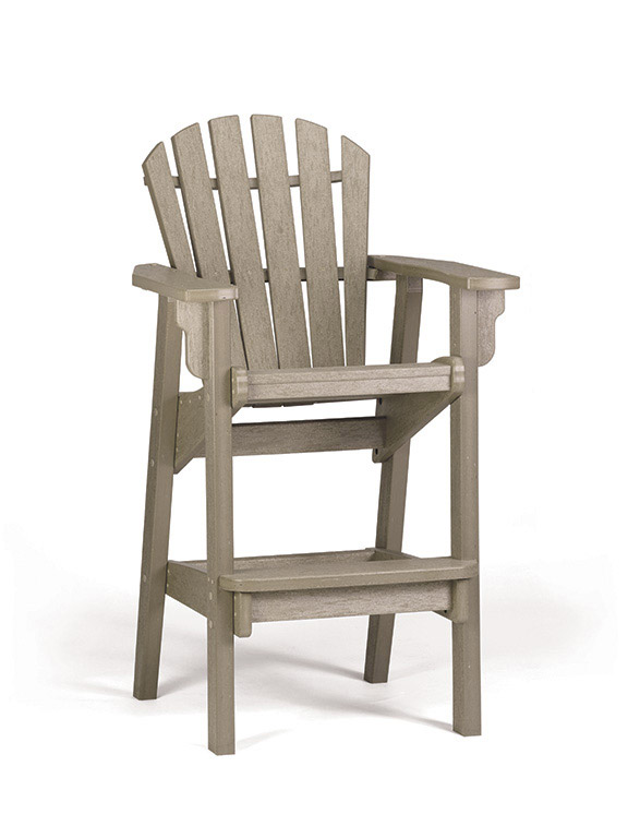 Quick Ship Coastal Bar Chair