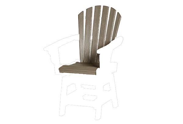Coastal Swivel Dining Chair