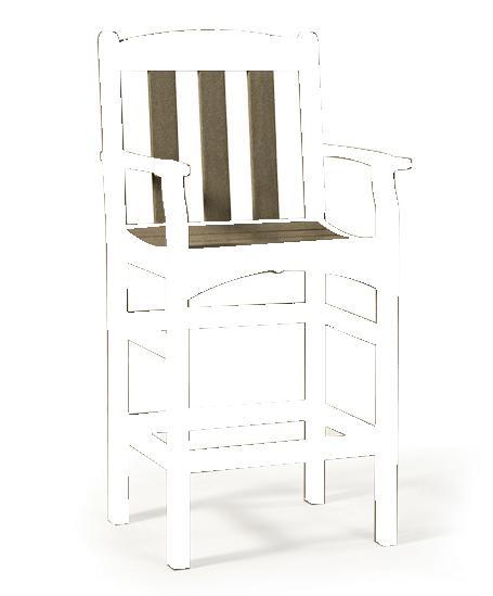 Skyline Captain's Bar Chair