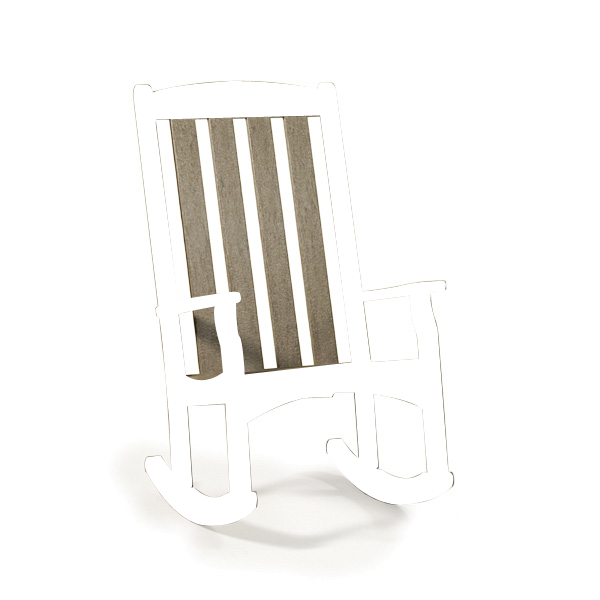 Quick Ship High Back Rocking Chair