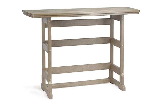 21″ x 60″ Bar Height Terrace Table