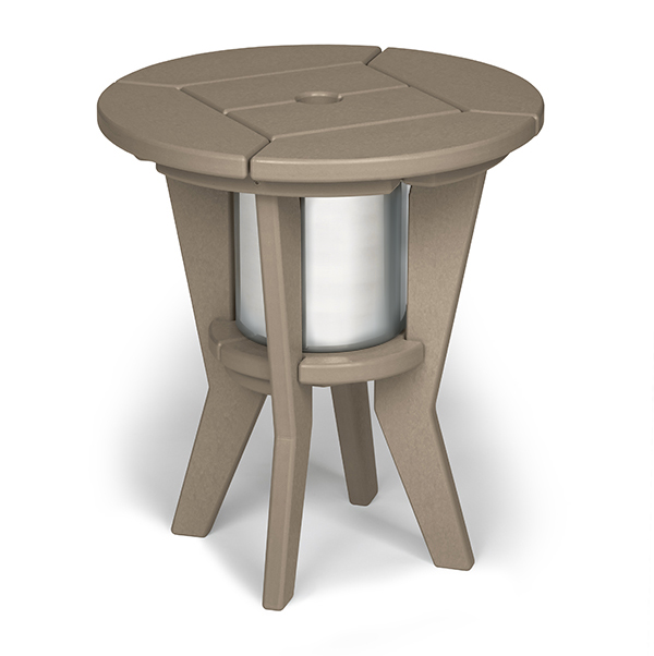 Quick Ship Chill Beverage Side Table